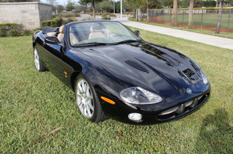 2003 Jaguar Xkr Convertible Garage Memories