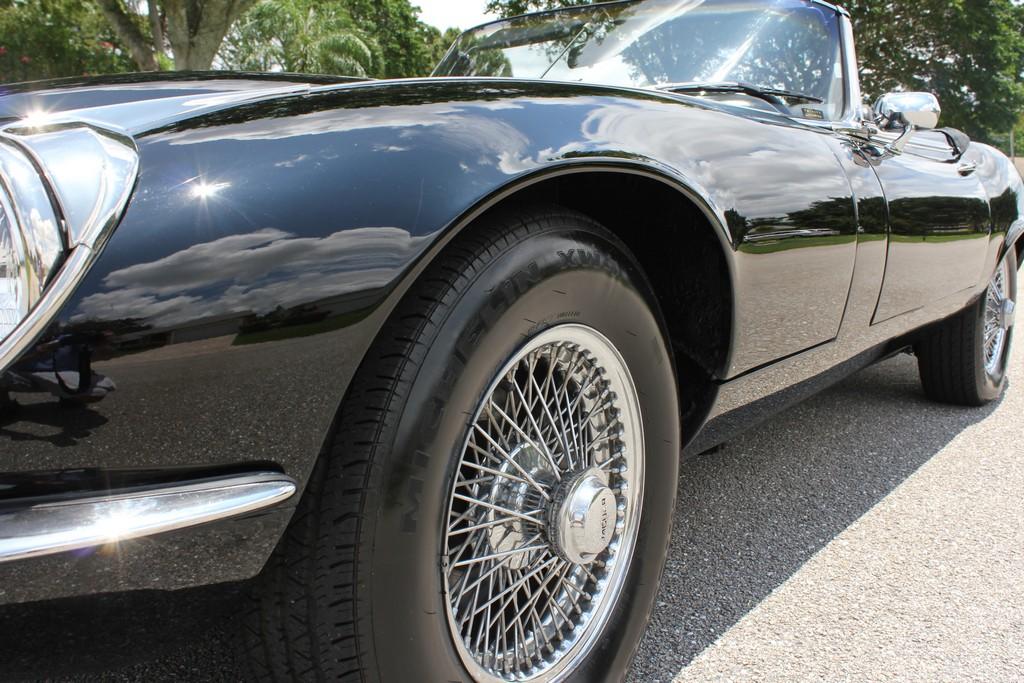 1973 Jaguar XKE 12 Cylinder Convertible