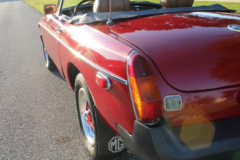 1976 MGB Convertible