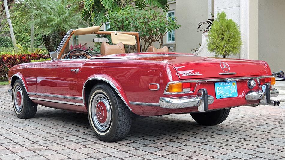 1971 Mercedes 280SL Convertible Pagoda