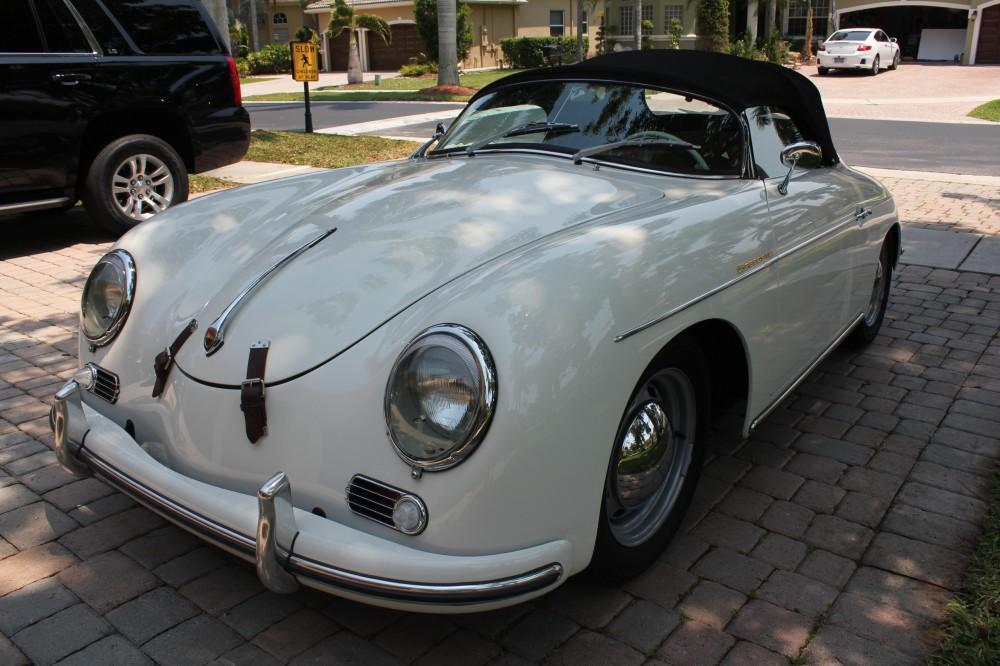 1958 Porsche 365A Speedster Intemecannica