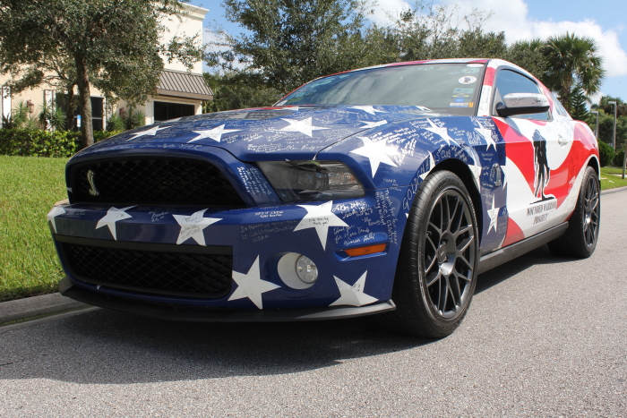 2011 Ford Shelby Mustang GT500 Wounded Warrior Project