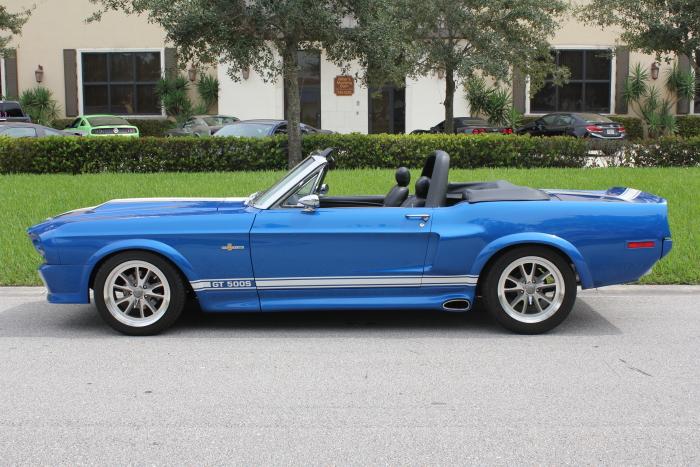 Dodge Ramcharger 2017 >> 1968 Mustang Custom GT500 Convertible – Garage Memories