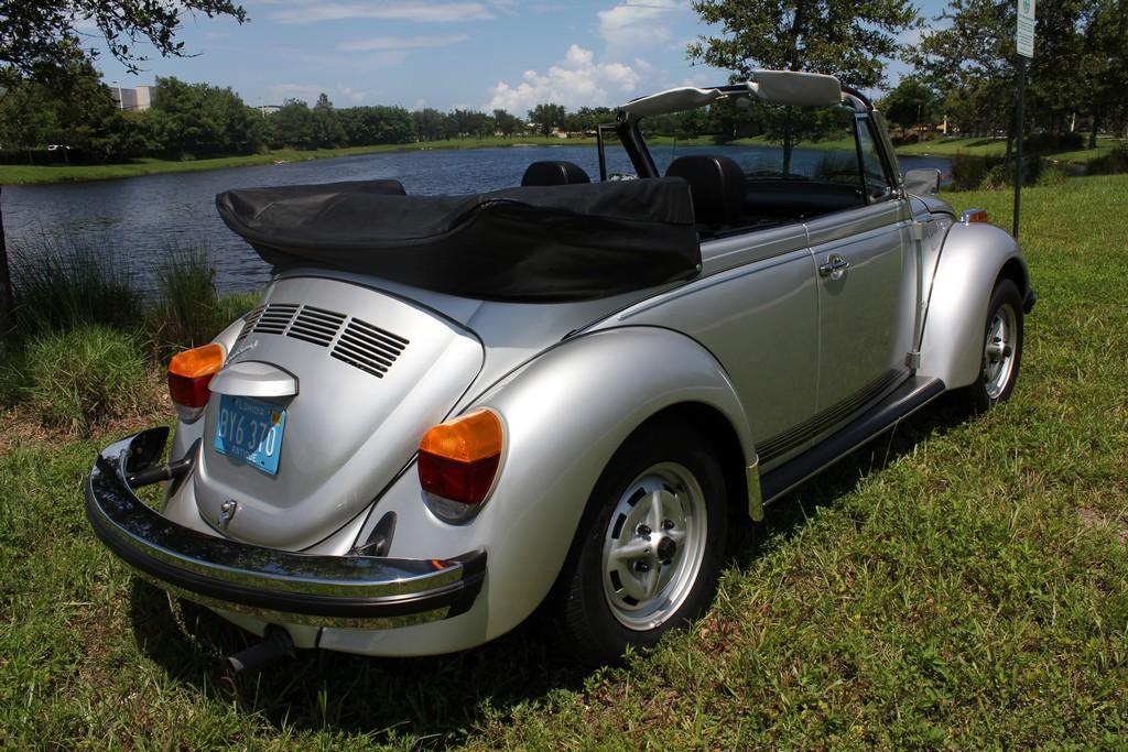 1979 VW Super Beetle Convertible
