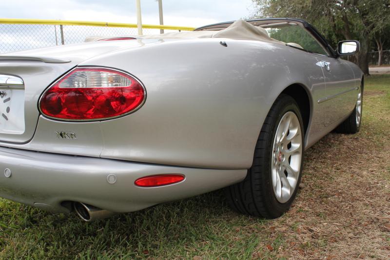 2002 Jaguar XKR Convertible