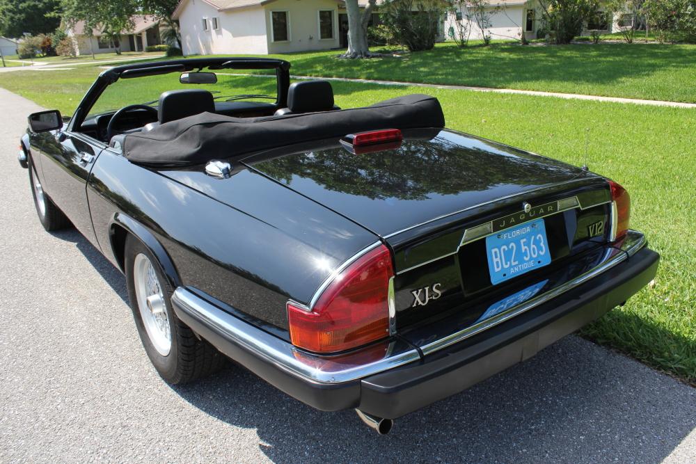 1990 Jaguar XJS V12 Convertible