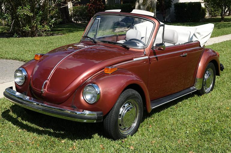 1978 Volkswagen Super Beetle Convertible – Garage Memories