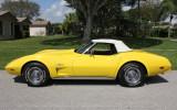 """1975 Chevrolet Corvette Convertible """" 2 tops/AC/Auto, Last Roadster, 51,020 Mi"""""""