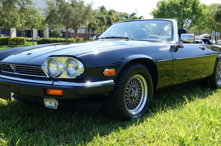 1989 Jaguar Xjs Convertible V12 1 So Fla Owner 1989 2016 36 333