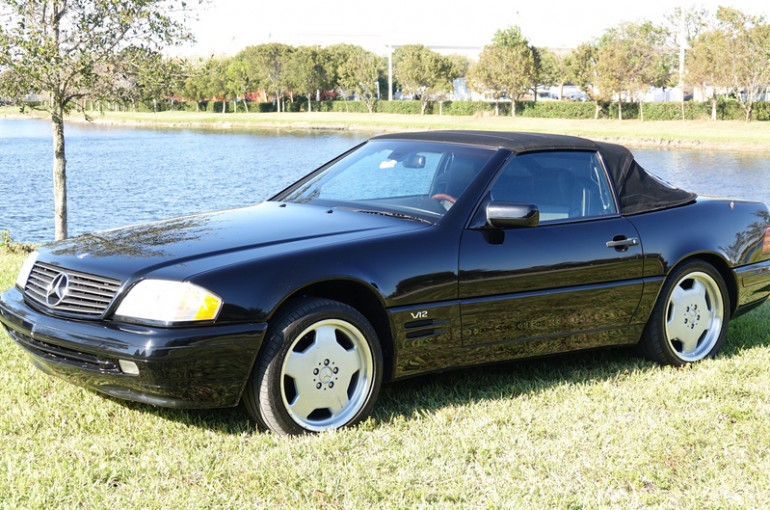 """1998 Mercedes Benz 600SL Roadster """"Two Tops/Garage Kept with 54,890 Actual miles"""