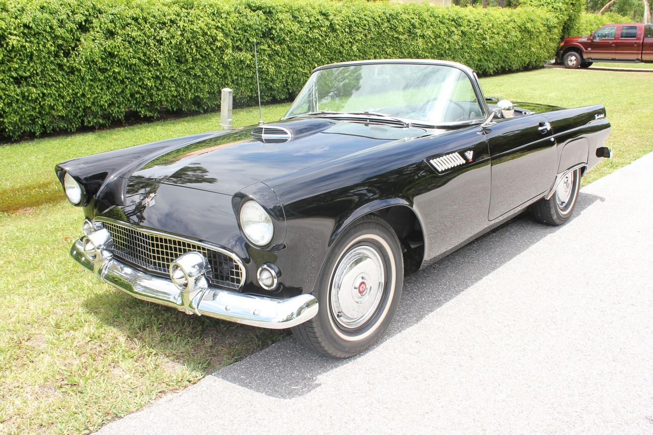 1955 Ford Thunderbid Convertible