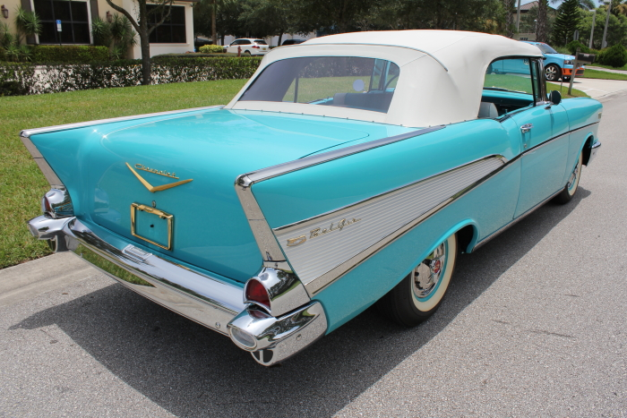 1957 chevrolet bel air convertible garage memories. Black Bedroom Furniture Sets. Home Design Ideas