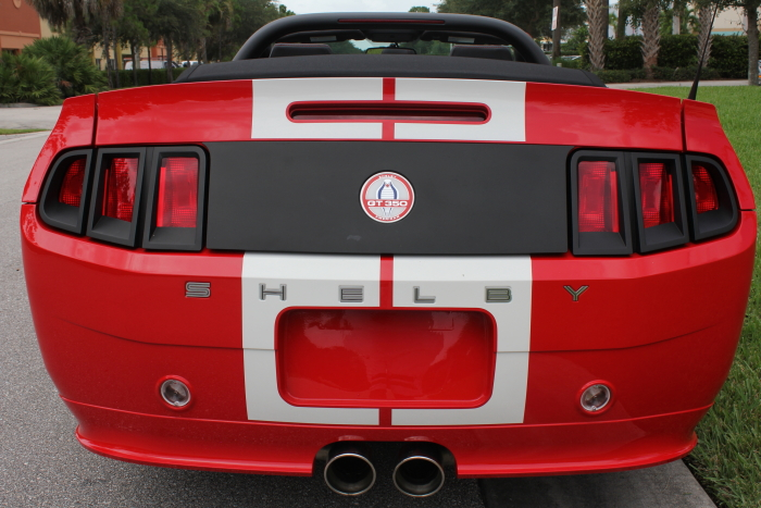 2012 Shelby GT350 Convertible (#350 of 100)
