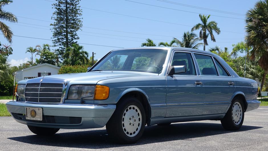 """1986 Mercedes Benz 420 SEL """" $22,000 in receipts-UNDER $9000!"""""""