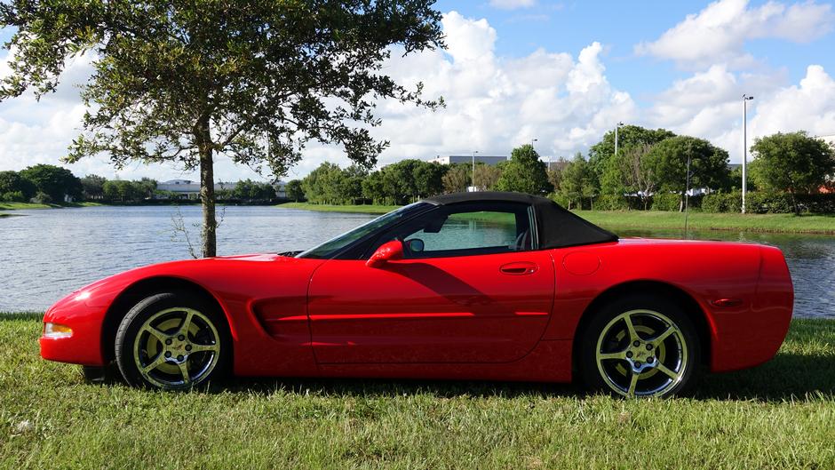 2002 Chevrolet Corvette Convertible For Sale