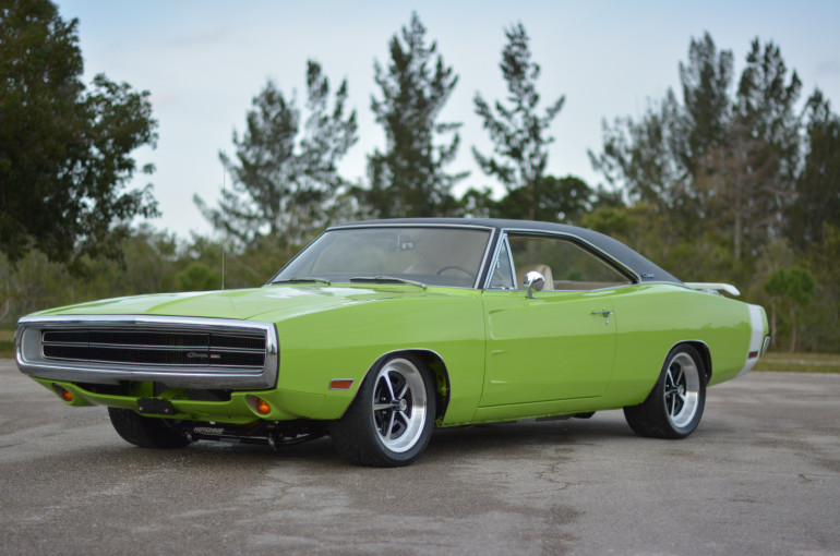 "1970 Dodge Charger 500 ""7 yr build/$300K+,Alum 528/670hp EFI"