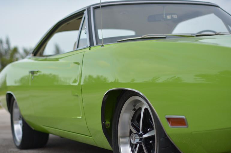 "1970 Dodge Charger 500 ""7 yr build/$300K+,Alum 528/670hp EFI Hemi"""
