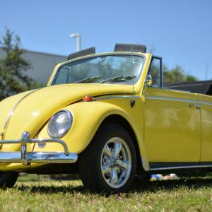 1965 VW Beetle Yellow