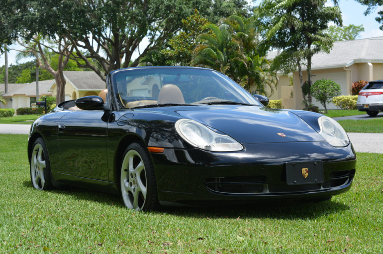 2001 Porsche 911 Carrera 4 Cabriolet 6-Speed