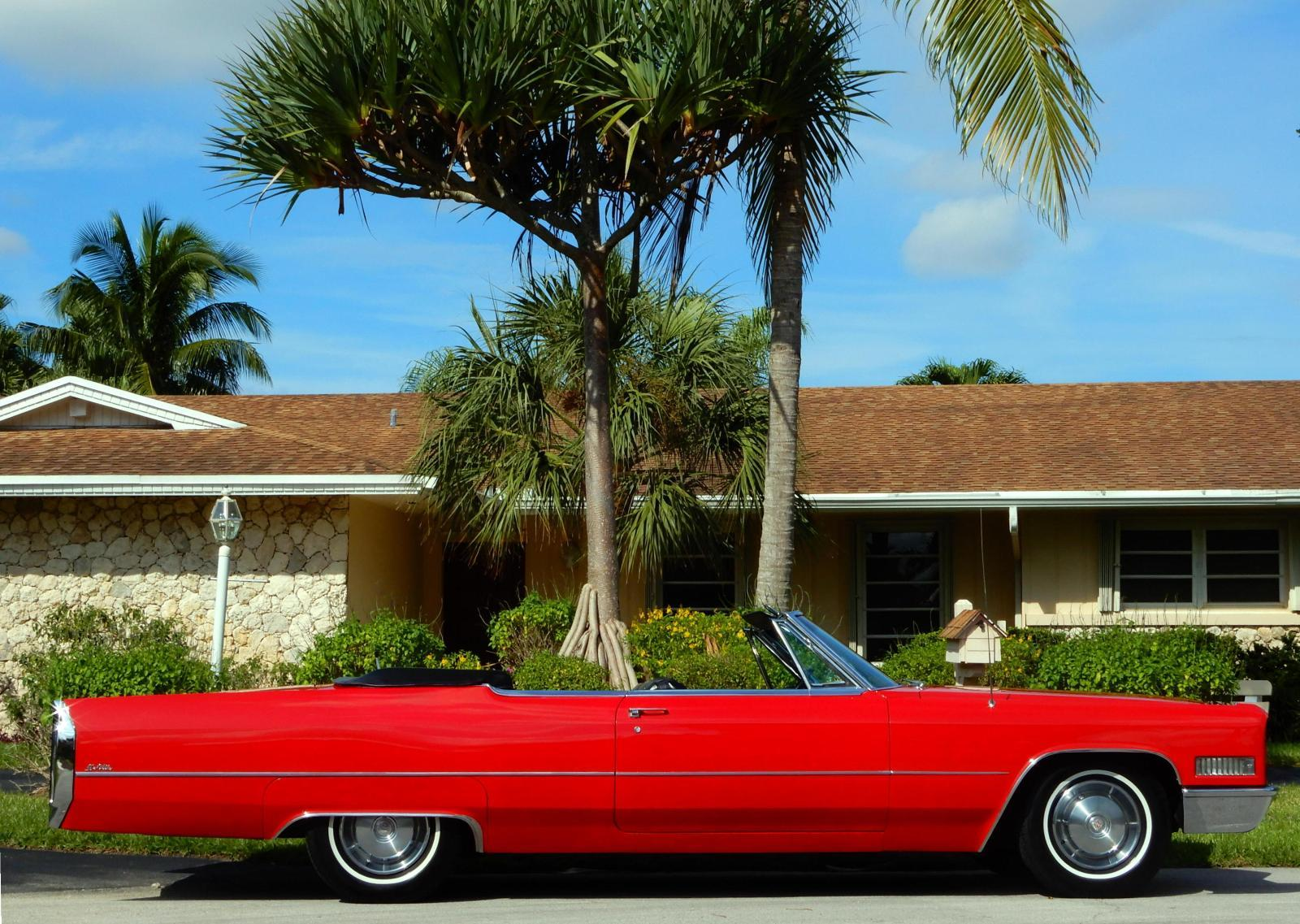 1966 Cadillac DeVille Convertible- 31,850 ACTUAL MILES- COLD A/C