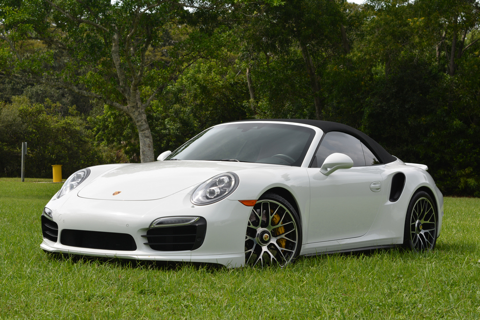 2014 Porsche 911 TURBO S Convertible